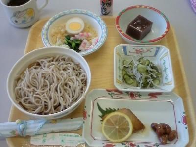 今日の昼食です